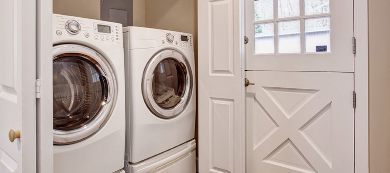 photo of laundry washer and dryer units