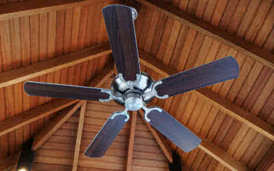 Saving Energy and Keeping Cool with Ceiling Fans